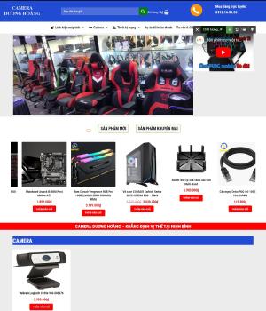 Website máy tính camera Dương Hoàng