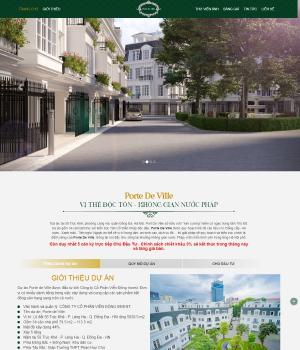 Nhà phố Đống Đa – Dự án Porte De Ville