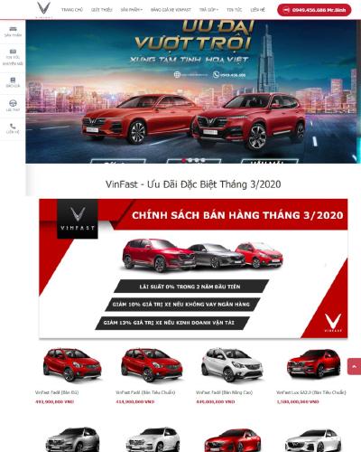 Đại lý ô tô Vinfast Ninh Bình